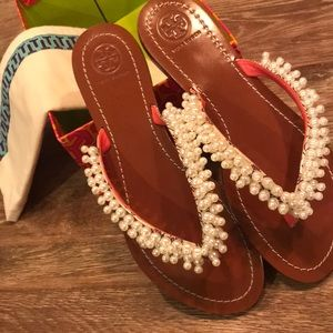 a74a93c9e80e Tory Burch Shoes -  Tory Burch  Tatiana thong sandal